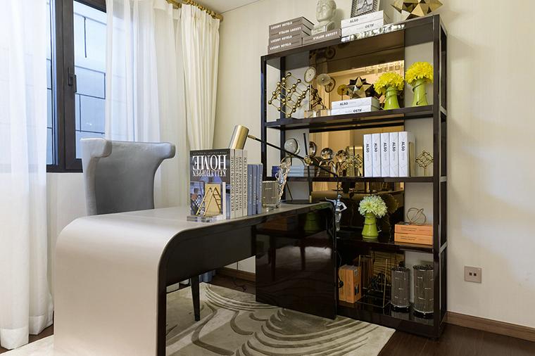 超唯美小户型设计书房效果图