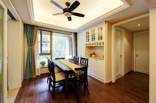8万搞定120平两居室装修餐厅效果图