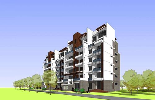 就多层住宅来讲,较常用建筑结构有砖混结构和框架结构.