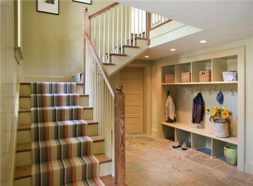 复式楼楼梯如何装修设计 复式楼楼梯装修设计要点图片