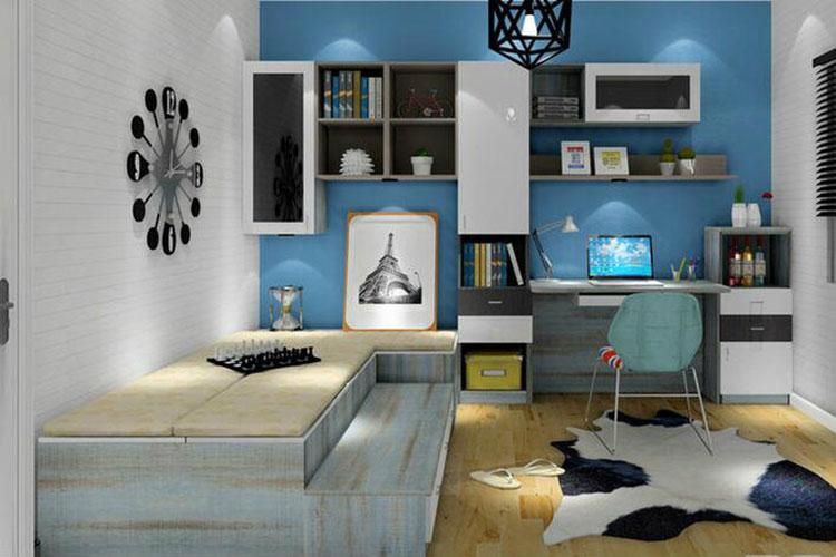 卧室书房效果图