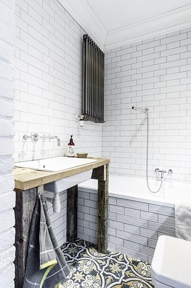 玩转炫酷工业风浴室瓷砖效果图