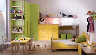 乐趣好动的儿童房图片