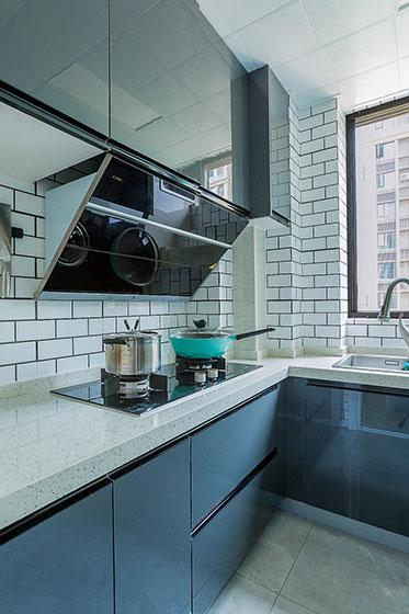 北欧简约风格装修厨房装修图