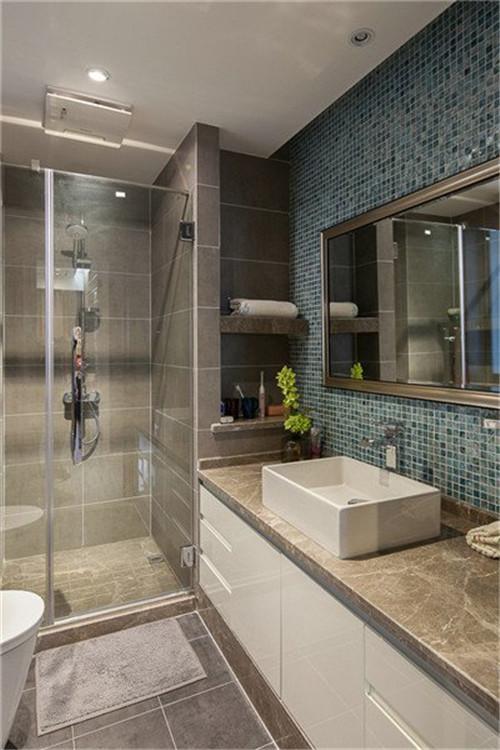 卫生间装修效果图 小户型卫生间装修非常考验设计师的