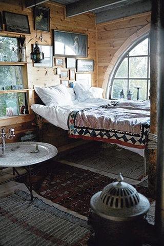 阁楼卧室装修欣赏图