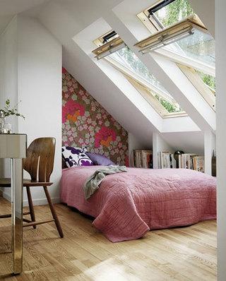 阁楼卧室装潢图