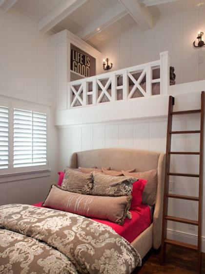 小复式阁楼卧室装修效果图
