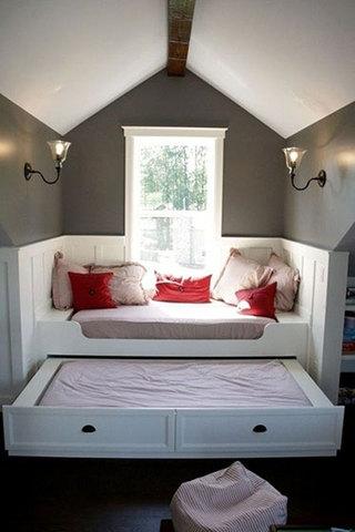 阁楼卧室装修构造图
