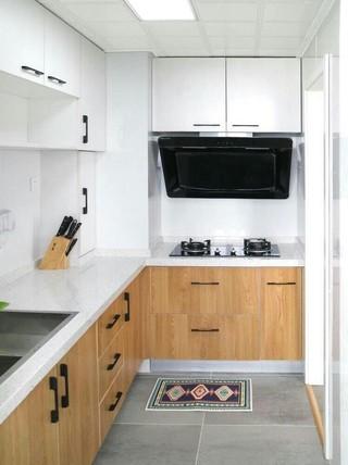 小户型简约北欧厨房装修效果图