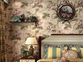 卧室这样增色 10款卧室壁纸装修图