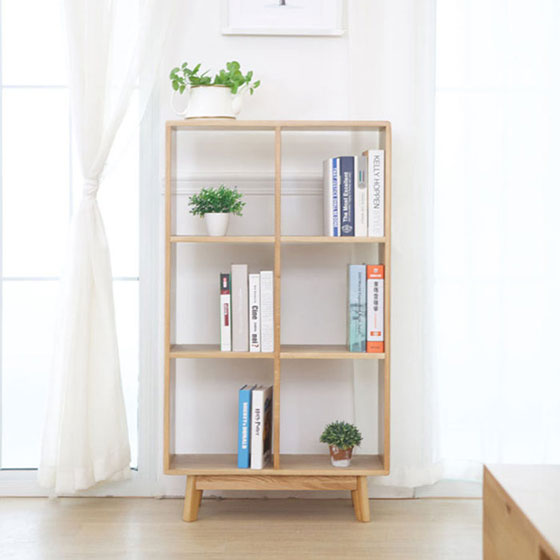 简易书架布置装修设计