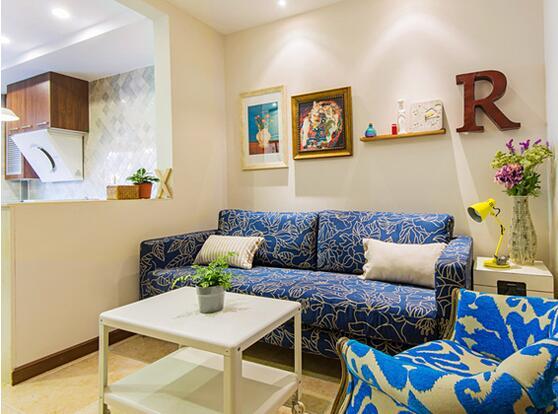 40平一室一厅装修图 巧用隔断告别紧凑小户型