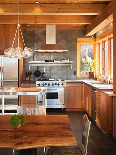 开放式厨房,打造自由舒适生活环境