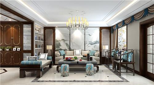 新中式客厅装修效果图 新中式家居装修呈现不一样的精彩图片