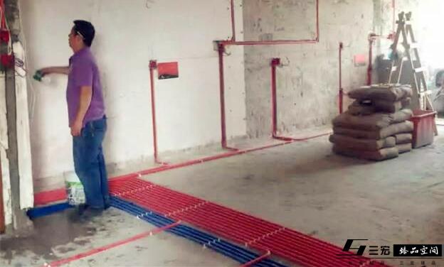 广州颐和上院装修水电验收现场