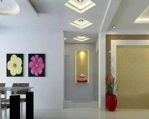走廊吊顶装修效果图 美美的走廊会给人留下很好的印象
