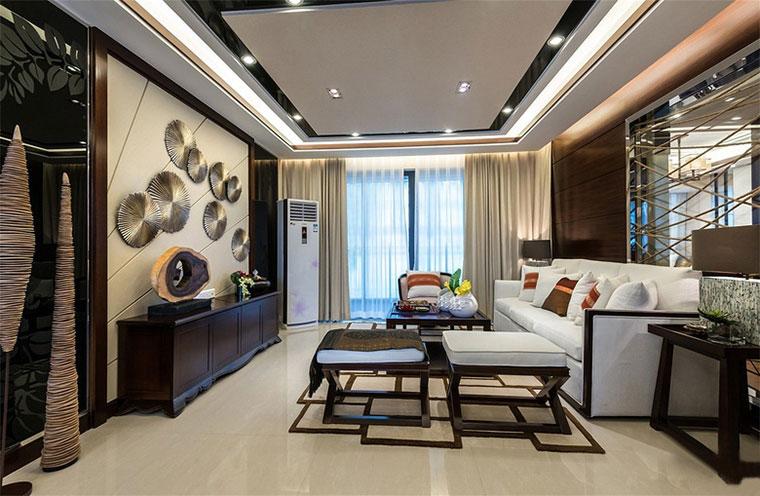 新中式风格房屋装修座椅图片
