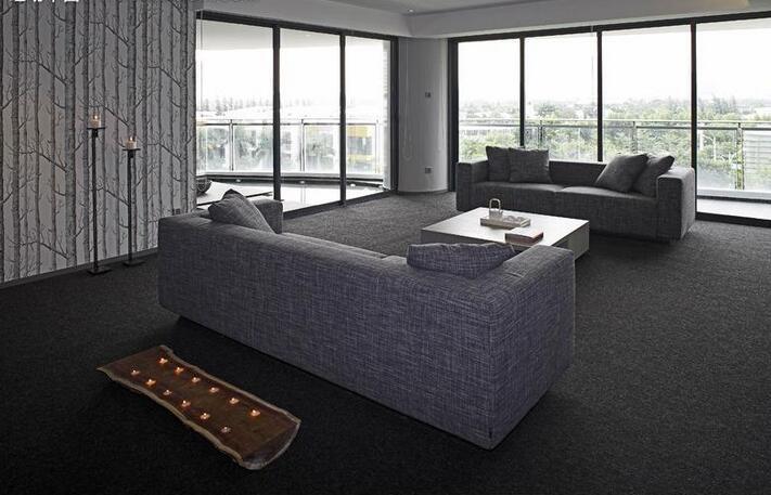 客厅地板砖什么颜色好看