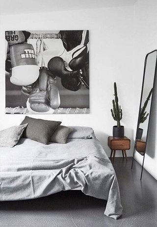 北欧风格卧室参考图