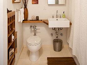 布局的巧妙 10个小厕所卫生间装修图