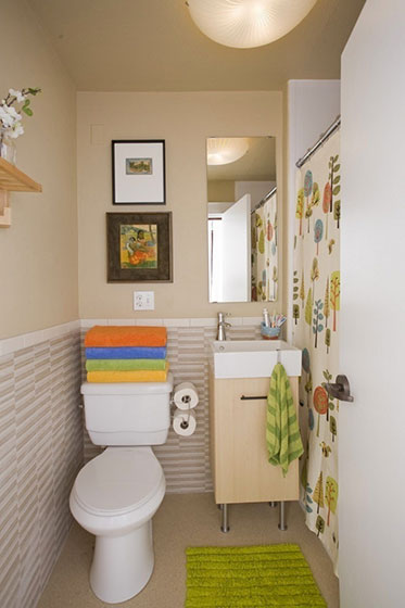 小户型卫生间欣赏图