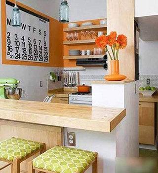 厨房吧台构造图