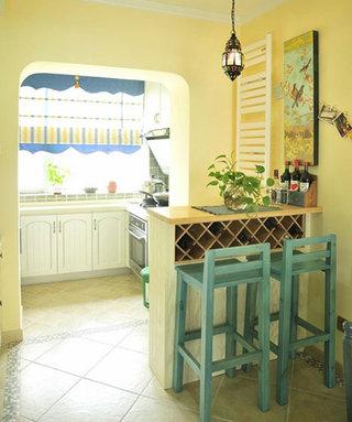 厨房吧台装潢图