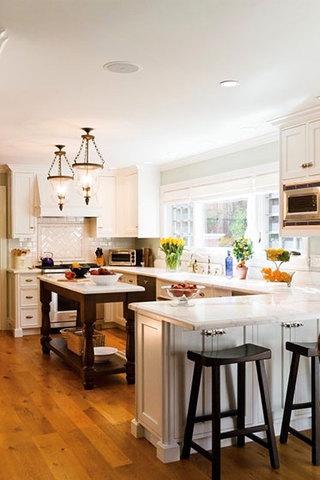 厨房吧台装修实景图