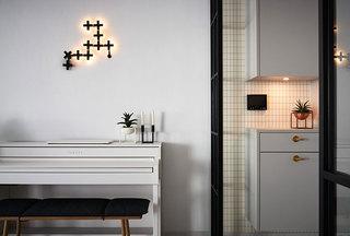 清新北欧风格装修壁灯欣赏图