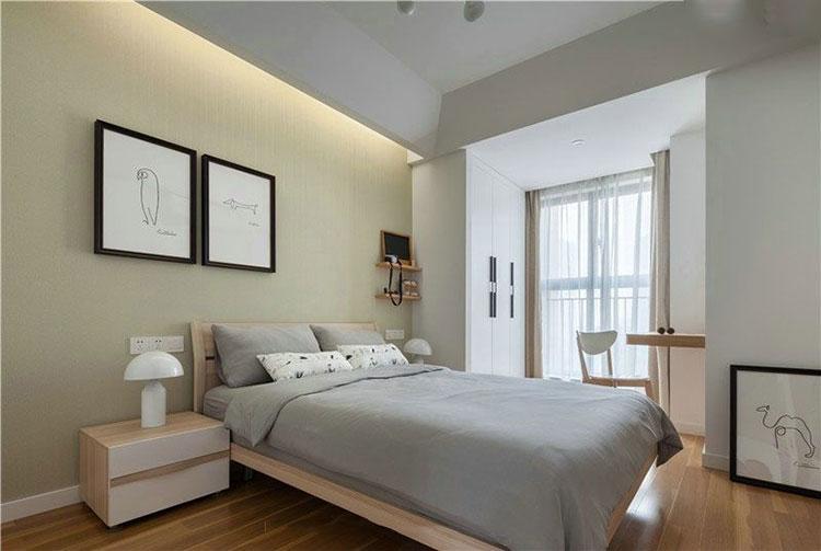 142㎡日式风格卧室装修图