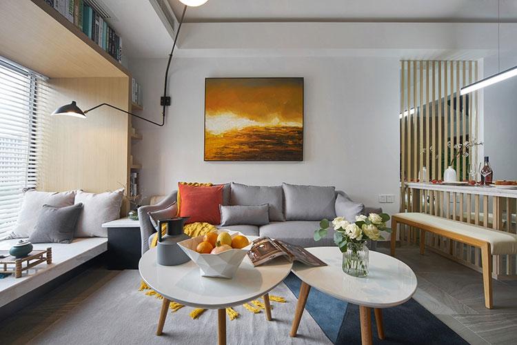 简装房子让人惊喜客厅效果图