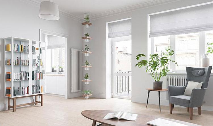 85平宜家风格清新两居室沙发椅图片