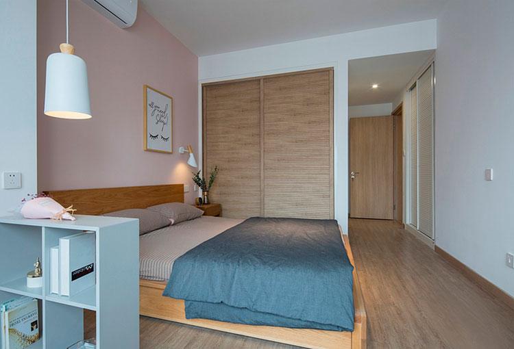 110㎡现代简约风格三室两厅衣柜图片