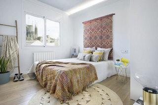 巴塞罗那两居室装修卧室装修图