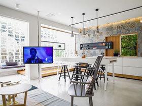 简约后现代装修设计 流动的空间