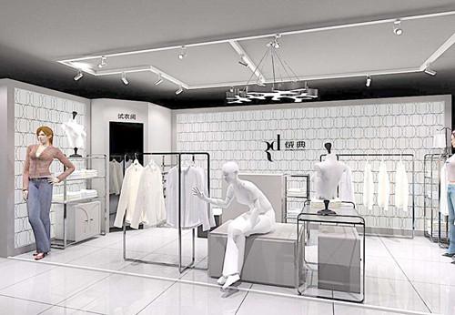 服装门店装修效果图 增加购物欲望的装修设计