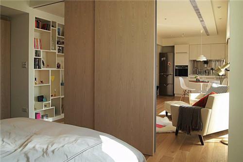 一居室小户型装修图 打造50平米温馨舒适小窝