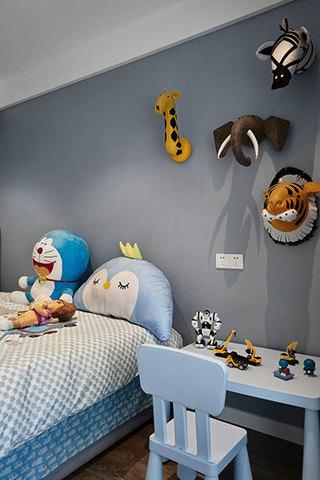 简约大气公寓装修儿童房装潢图