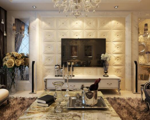 欧式风格不仅仅是别墅,豪宅的专利,普通的中小户型也能享受到欧式的图片