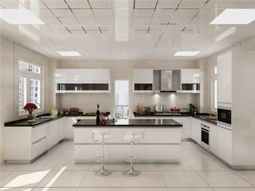 开放式厨房装修效果图 开放式厨房成为小户型的装修新宠