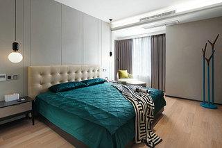 简约风格装修设计卧室布置图