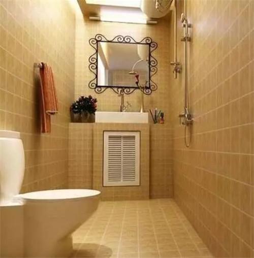 卫生间瓷砖装修效果图 小卫生间瓷砖颜色搭配也是有讲究的