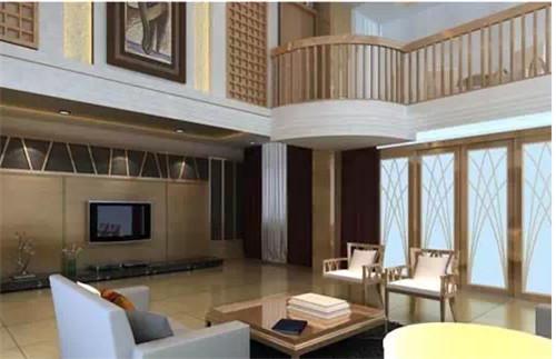 小复式楼装修效果图 15万打造宽敞,通透的生活空间图片