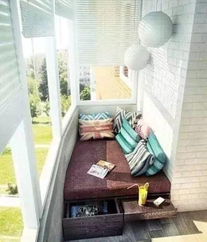 小户型阳台设计最实用的方案,晾衣服完全不用担心