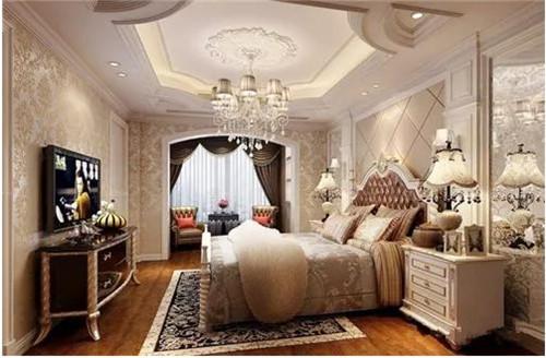 房子装修图 120平米房子如何装修出华丽温馨的欧式风情