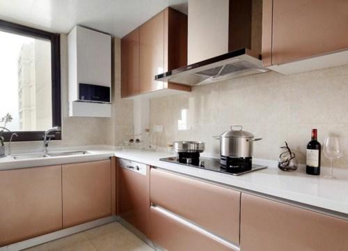 厨房吊柜装修效果图 厨房里的风景线
