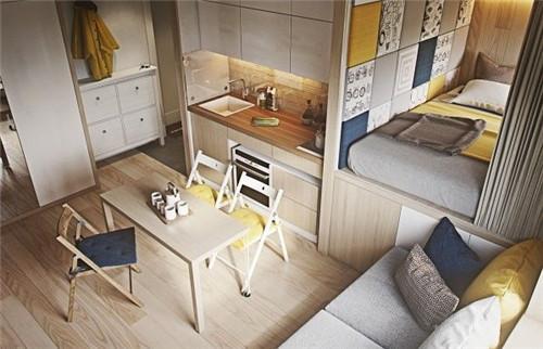 40平方小户型房子装修效果图 40p小空间装修的变身记