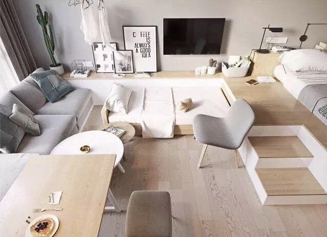 30平米单身公寓装修