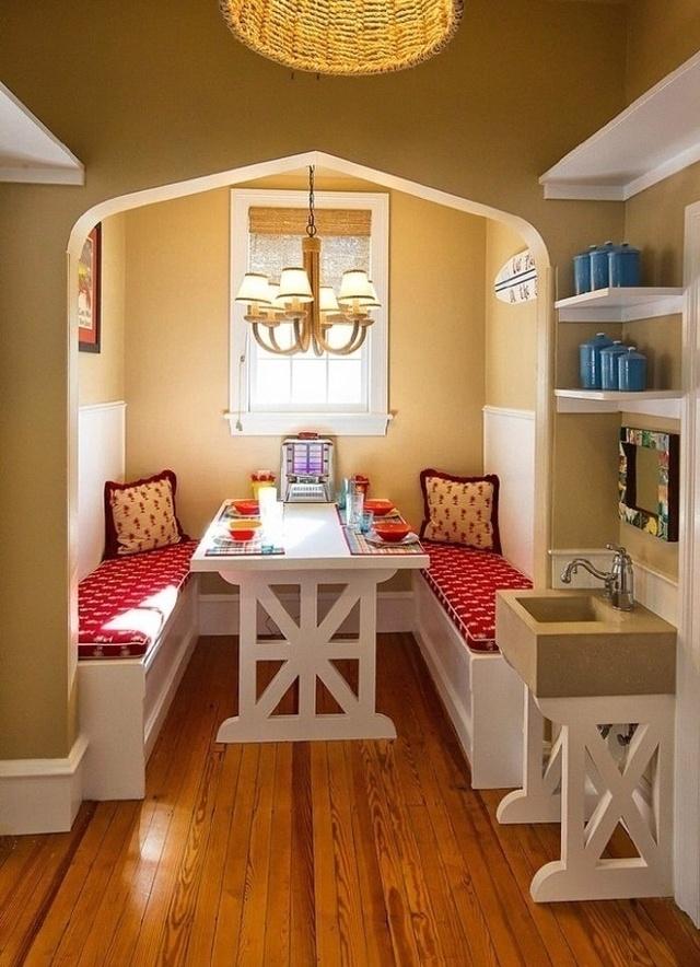 小户型餐桌设计,美丽实用又便宜